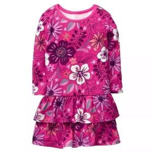 Gymboree Floral Ruffle Dress Size NEW!